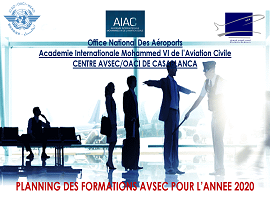 AIAC_Planning des formations AVSEC 2020